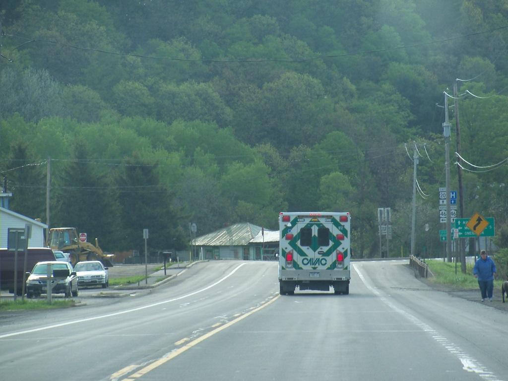 CAVAC Ambulance - Rt 20