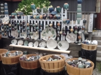 Cazenovia-Craft-Fair-2016-Clinton-Pottery-Display