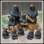 Harnett-Designs-2015-1 Chainsaw Carved Bears