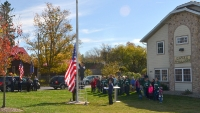 Flag Raising Oct 2012