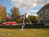 Flag Raising Oct 2012