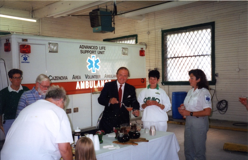 Reception in the ambulance bay (1995)