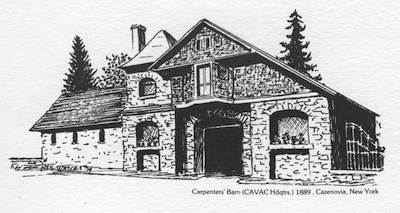 CAVAC Carriage House Headquarters (drawing)