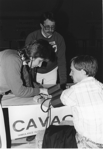 CAVAC College health fair (1988)