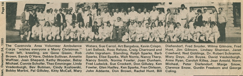 Membership Photo December (1980)