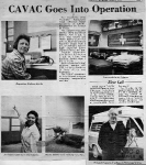 CAVAC Goes Into Operation - 1974 - Cazenovia Republican