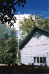 Headquarters flagpole (1995)