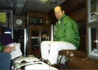 Ambulance interior and crew (1995)