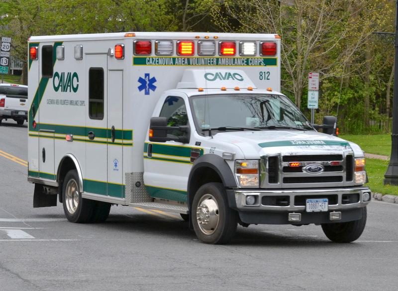 CAVAC Ambulance Responding
